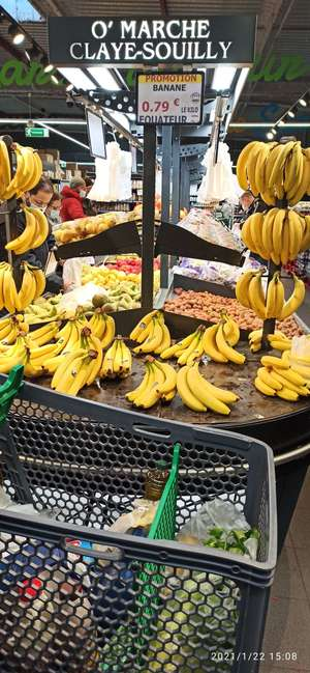 Banane origine Équateur - O' marche Claye Souilly (77)