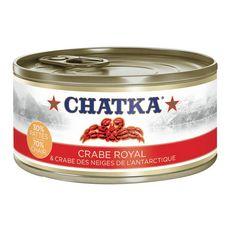 Chatka Crabe royal et crabe des neiges de l'Antarctique 180g - Auchan Drive Bordeau le lac (33)