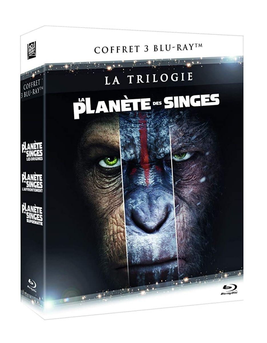 Coffret Blu-ray : Trilogie la planète des singes