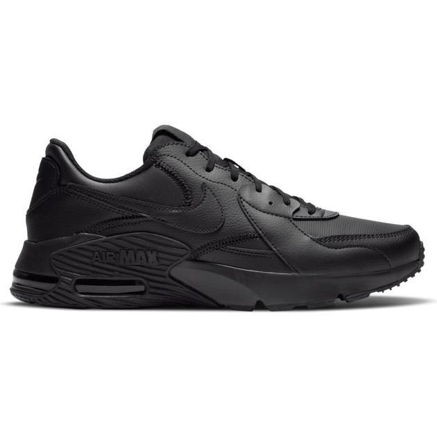 Chaussures homme Nike Air Max noir en cuir (foot-urban.com)