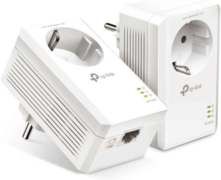Lot de 2 CPL TP Link TL-PA7017P avec 1 Port Ethernet Gigabit