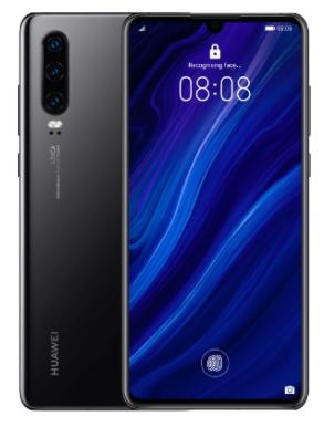 "Smartphone 6.1"" Huawei P30 - full HD+, Kirin 980, 6 Go de RAM, 128 Go (Noir)"
