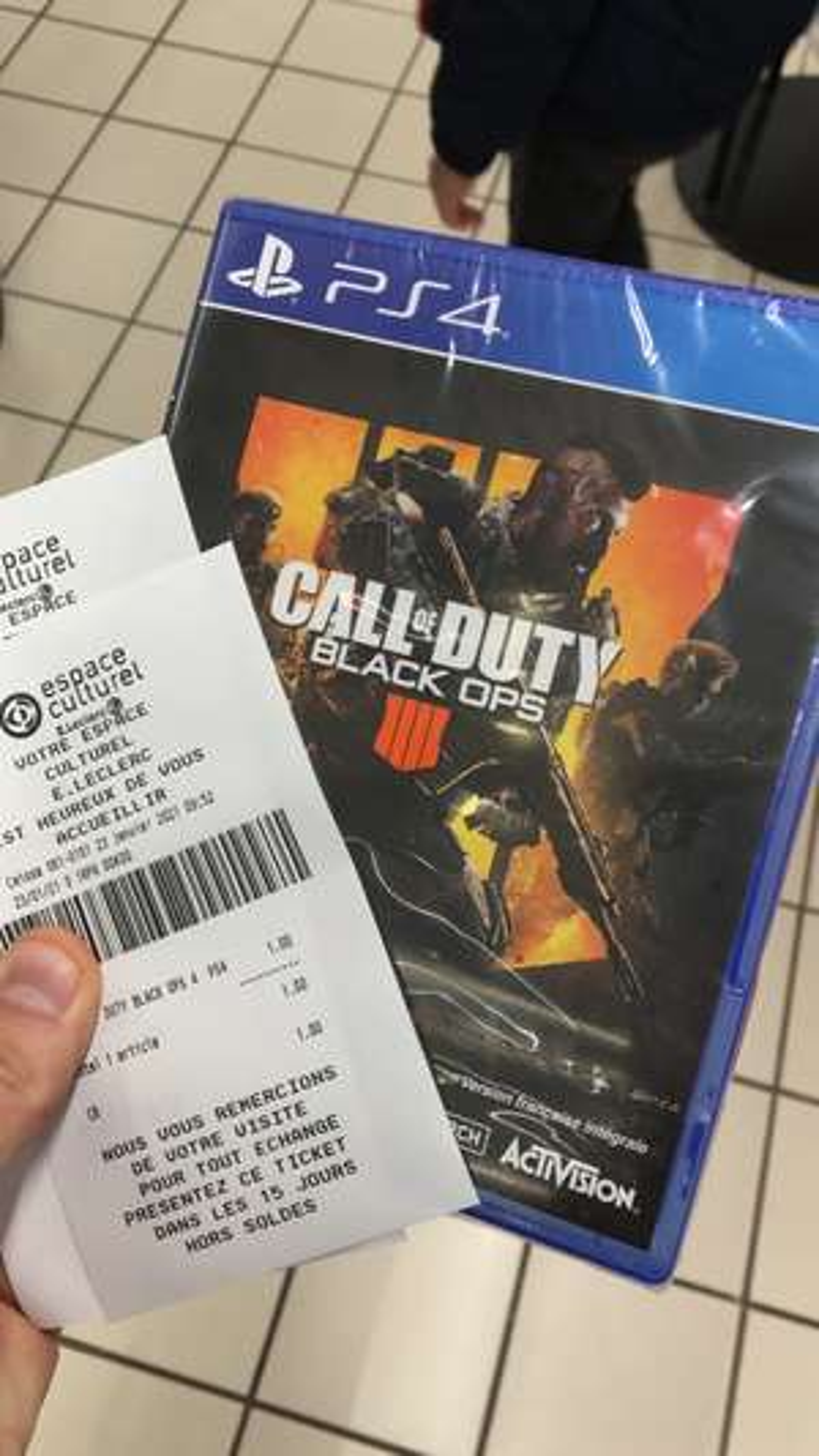Call of Duty Black Ops IIII sur PS4 (Ploërmel 56)