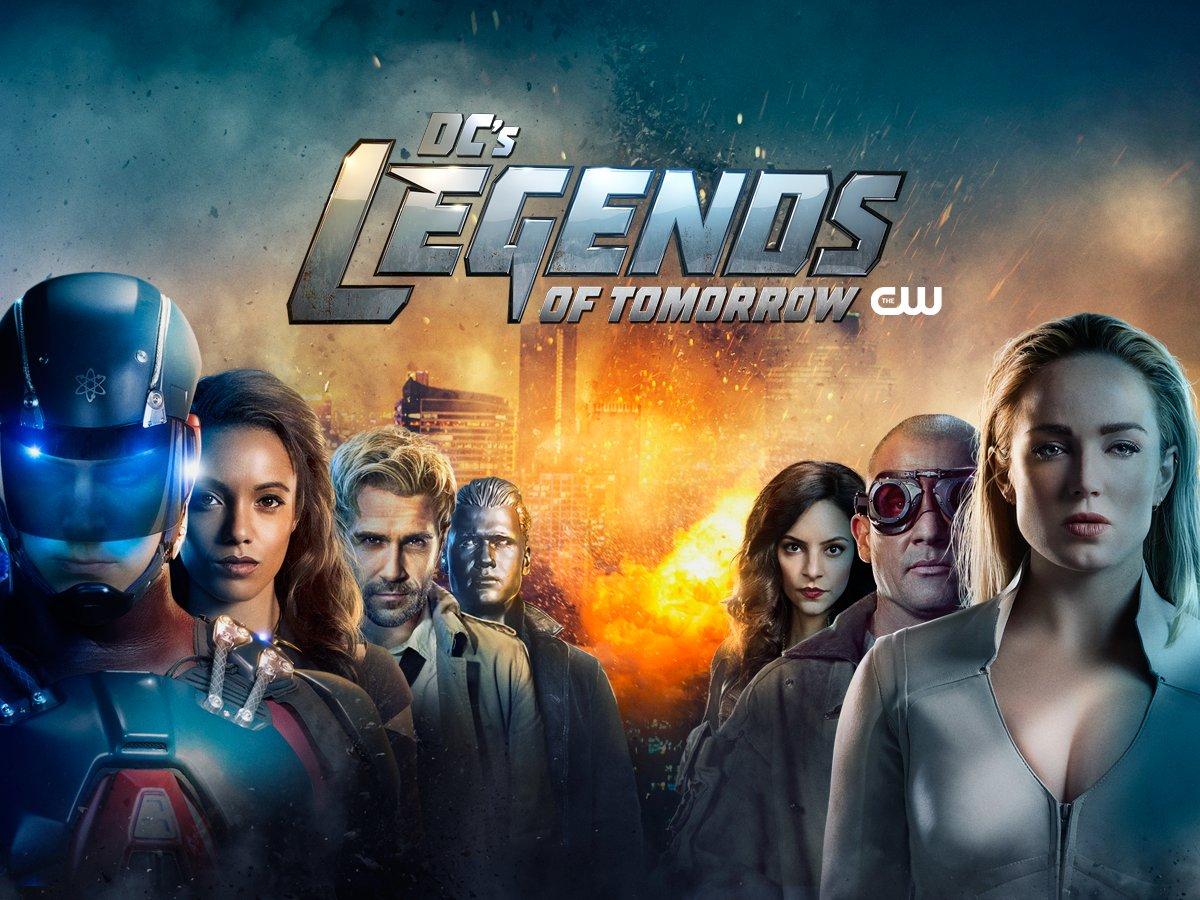 VOD : Série DC à 4,99€ en achat HD la saison - Ex: Legends of Tomorrow (Dématérialisé)