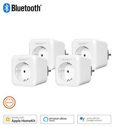 Lot de 4 prises connectée Osram Smart+ Compatible HomeKit, Alexa et Google Home