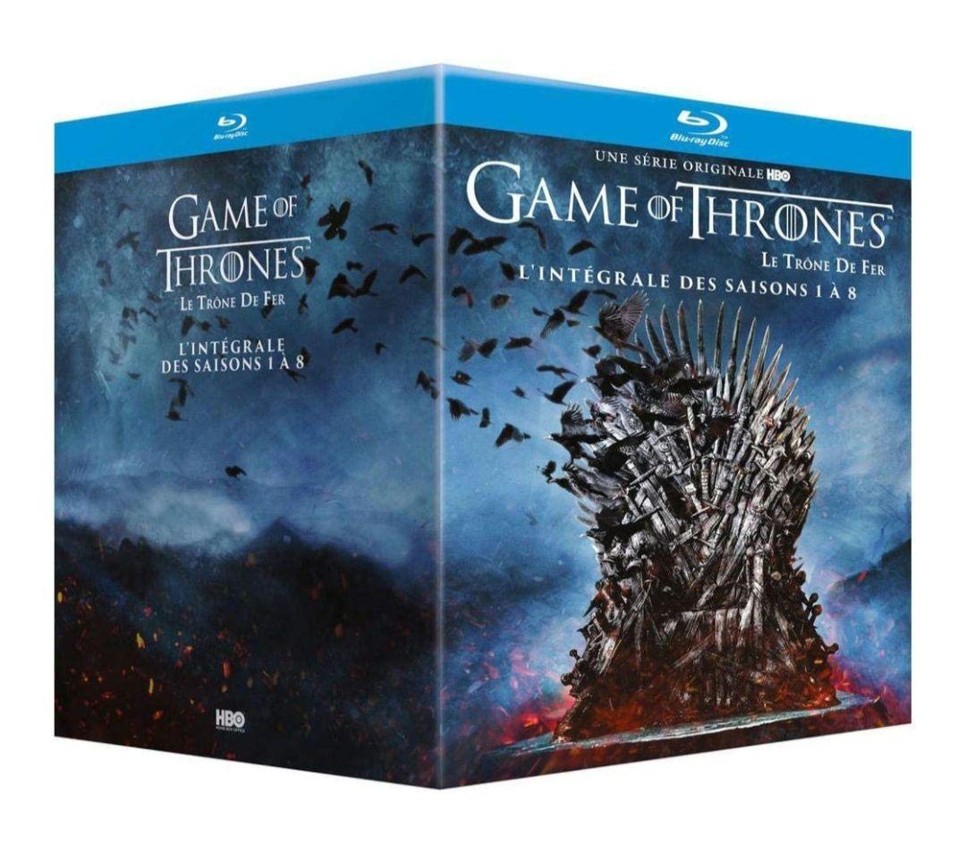 Coffret BluRay Game of Thrones (Le Trône De Fer) - L'intégrale des saisons 1 à 8