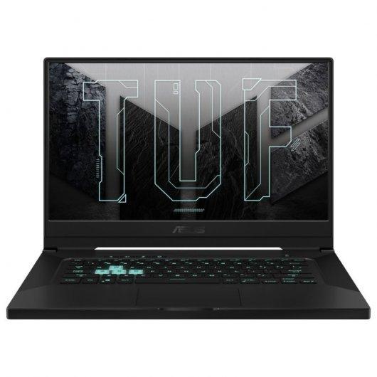 """PC Portable 15.6"""" Asus TUF Gaming Dash F15 FX516PR-HN002 - i7-11370H, 16Go RAM, 512Go SSD, RTX 3070 (Qwerty Espagnol)"""
