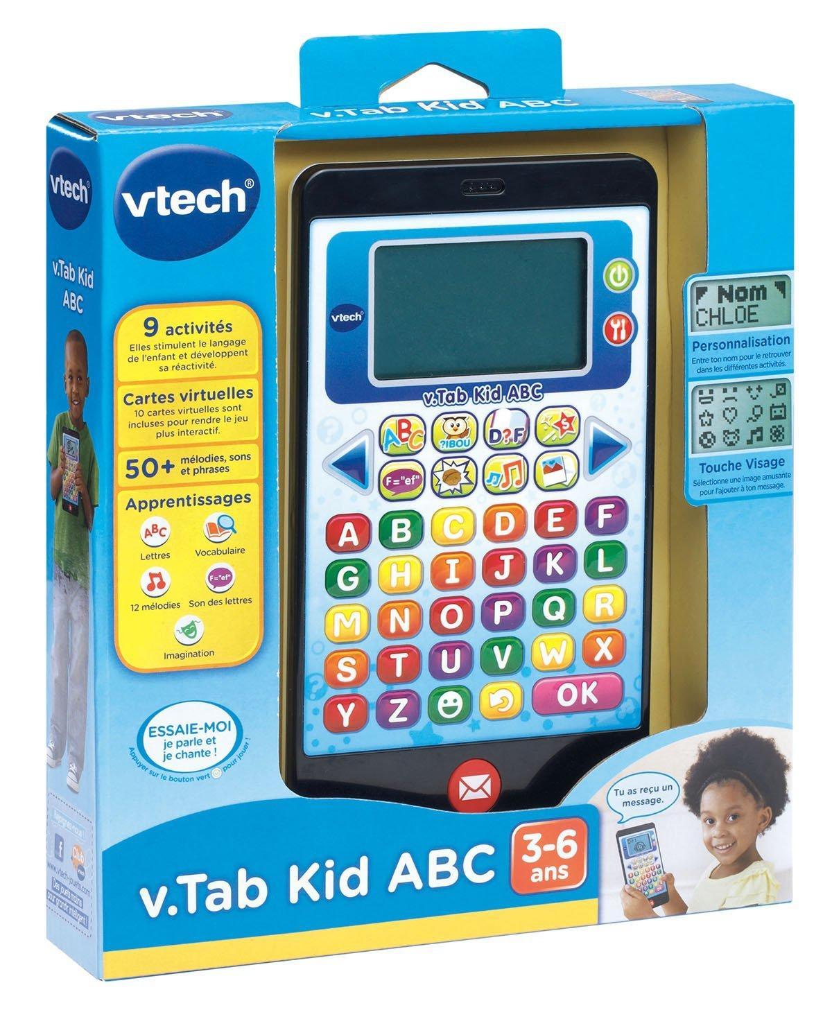 Tablette pour enfant Vtech 169205 V.tab Kid A,B,C