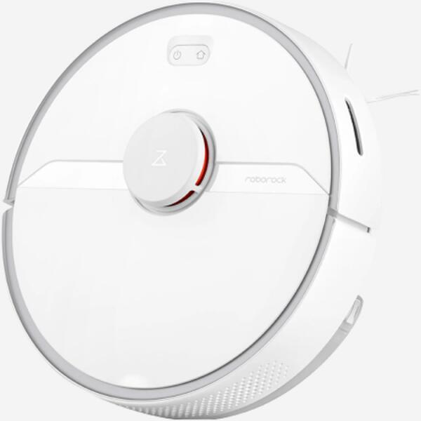 Aspirateur robot lavant connecté Roborock S6 Pure - Blanc