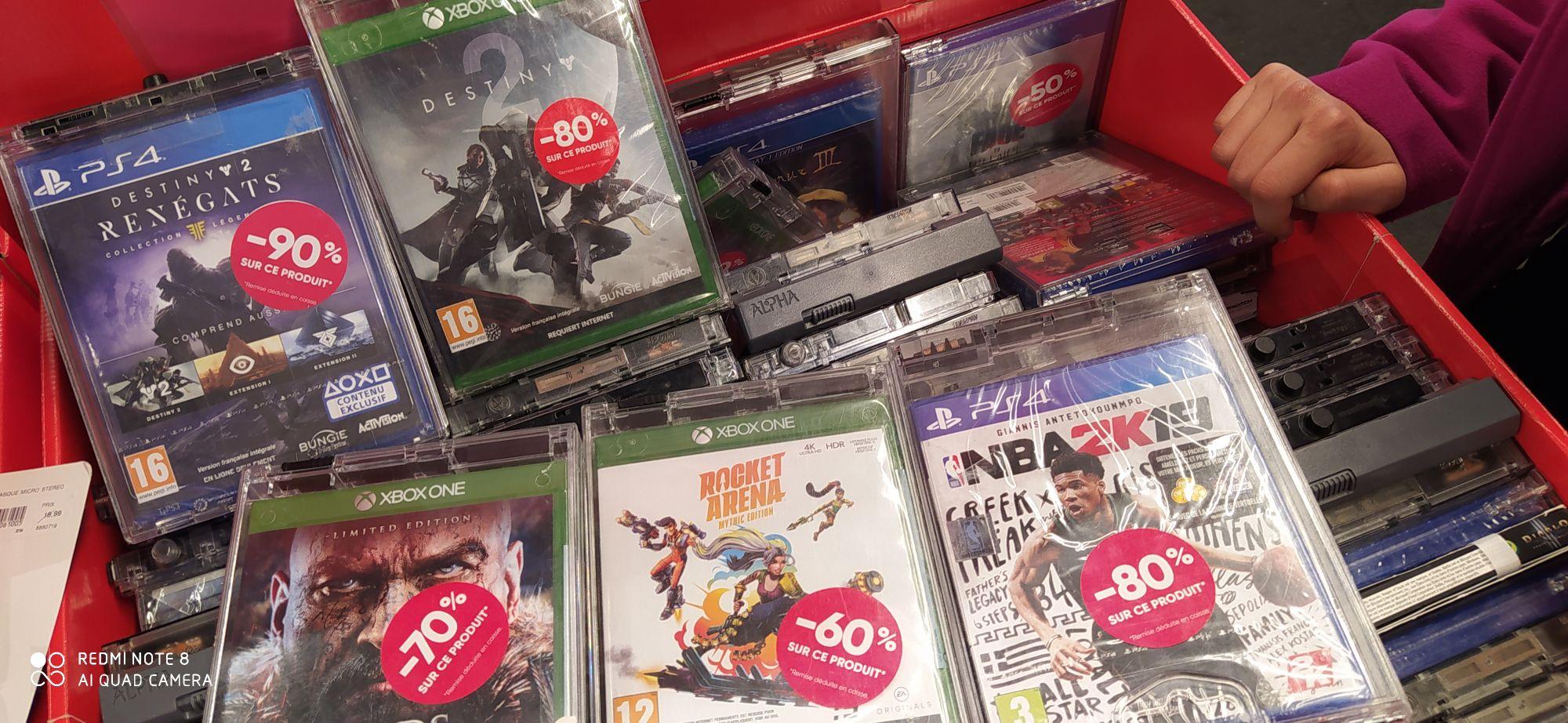 Sélection de jeux PS4 et Xbox One en promotion - Ex : Destiny 2 Renégats sur PS4 (Monthieux 42)