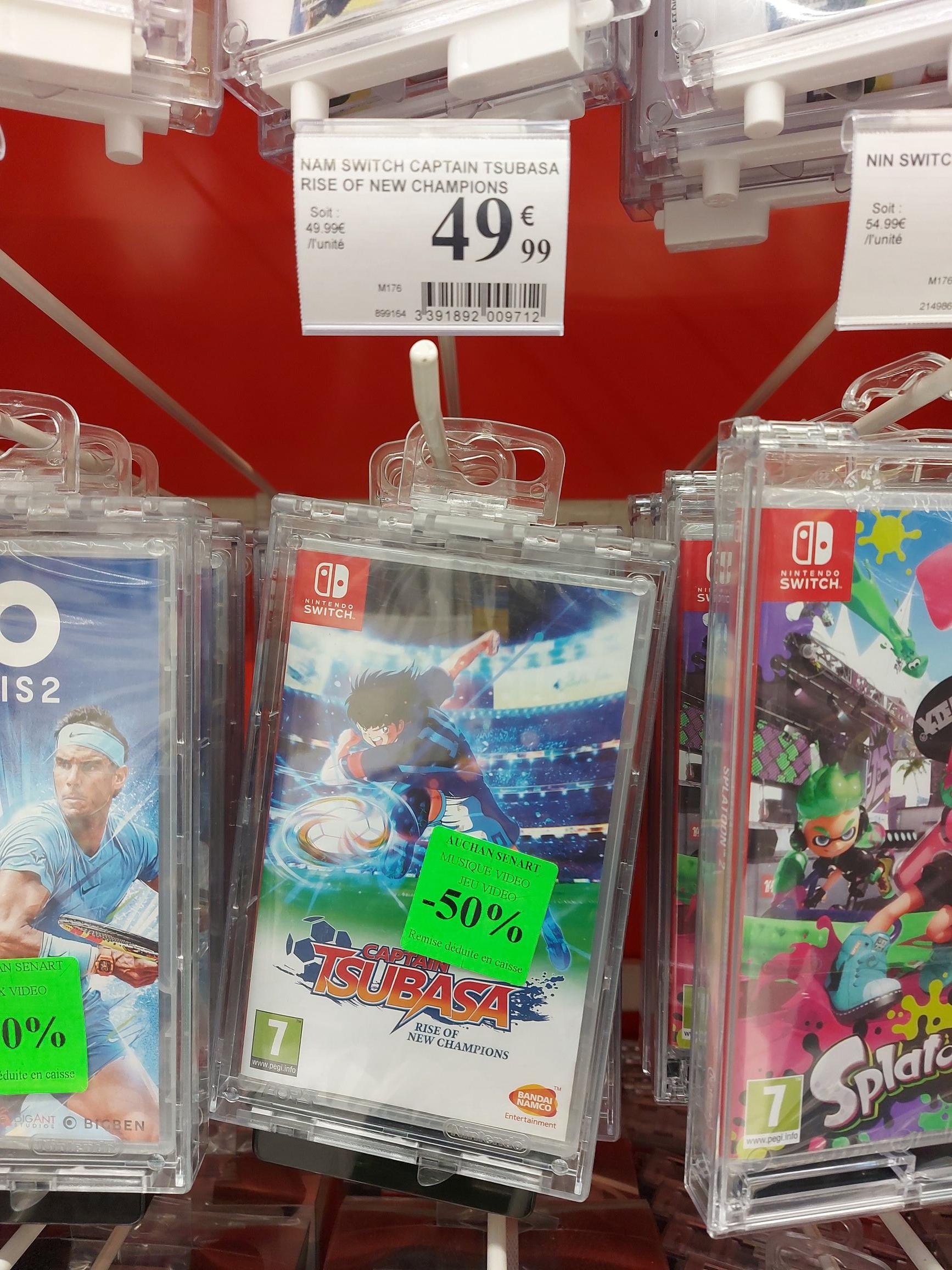 Captain Tsubasa Rise of New Champions sur Nintendo Switch - Cesson Bois Sénart (77)