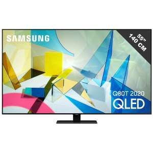 "Tv 55"" Samsung QLED QE55Q80TAT - 4K UHD, LED (+99,90 en Rakuten Points)"