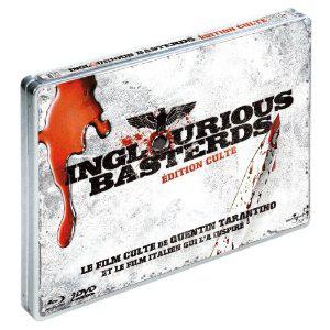 Inglourious Basterds Version Culte Boitier métal (Blu-ray + DVD + Film italien qui a inspiré le film)