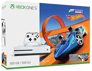 Sélection de packs Xbox One S - Ex : Console Microsoft Xbox One S 500 Go + Forza Horizon 3 Hot Wheels - Pontivy (56)