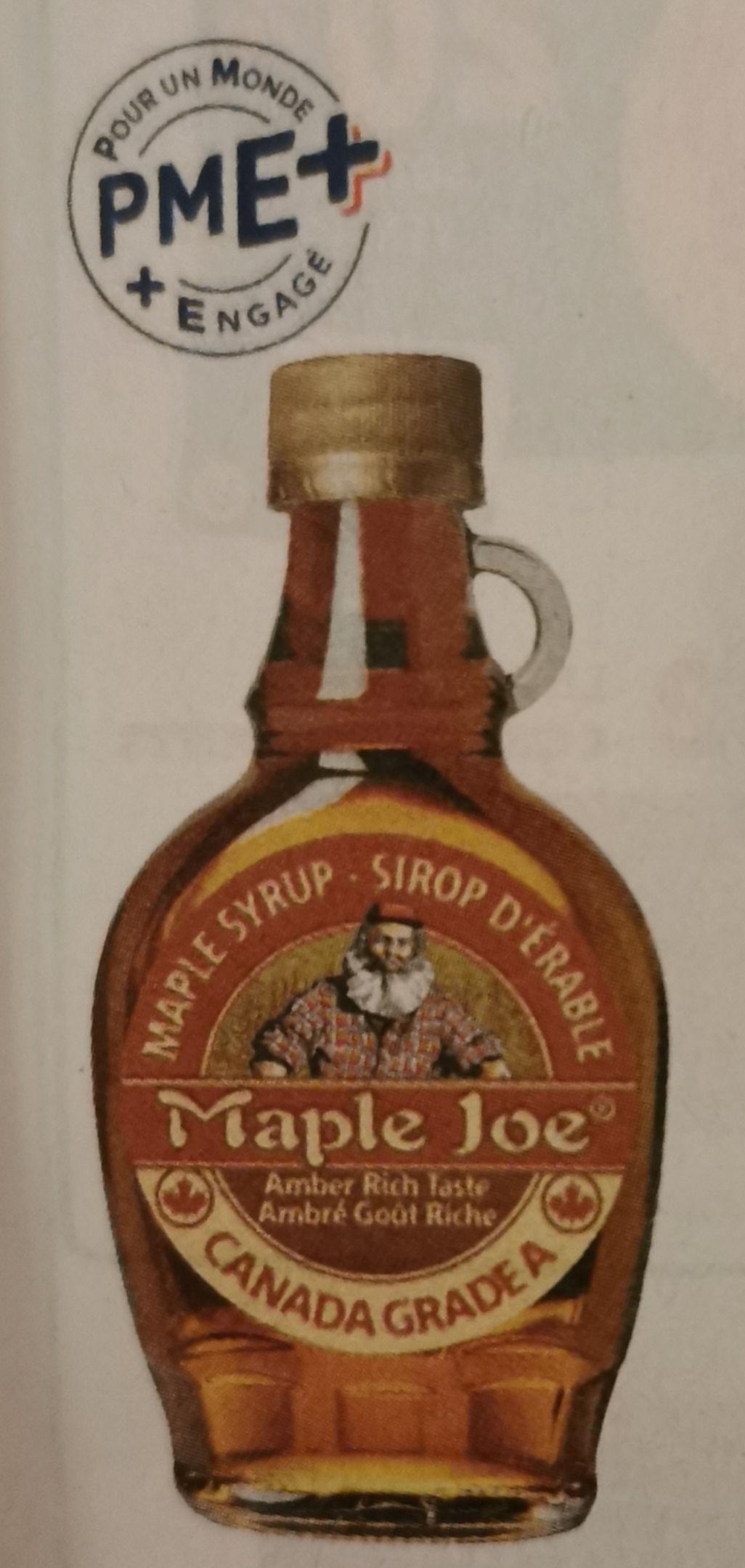Bouteille de sirop d'érable Maple Joe - 250g