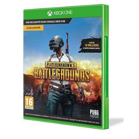 Jeu PlayerUnknown's Battleground sur Xbox One