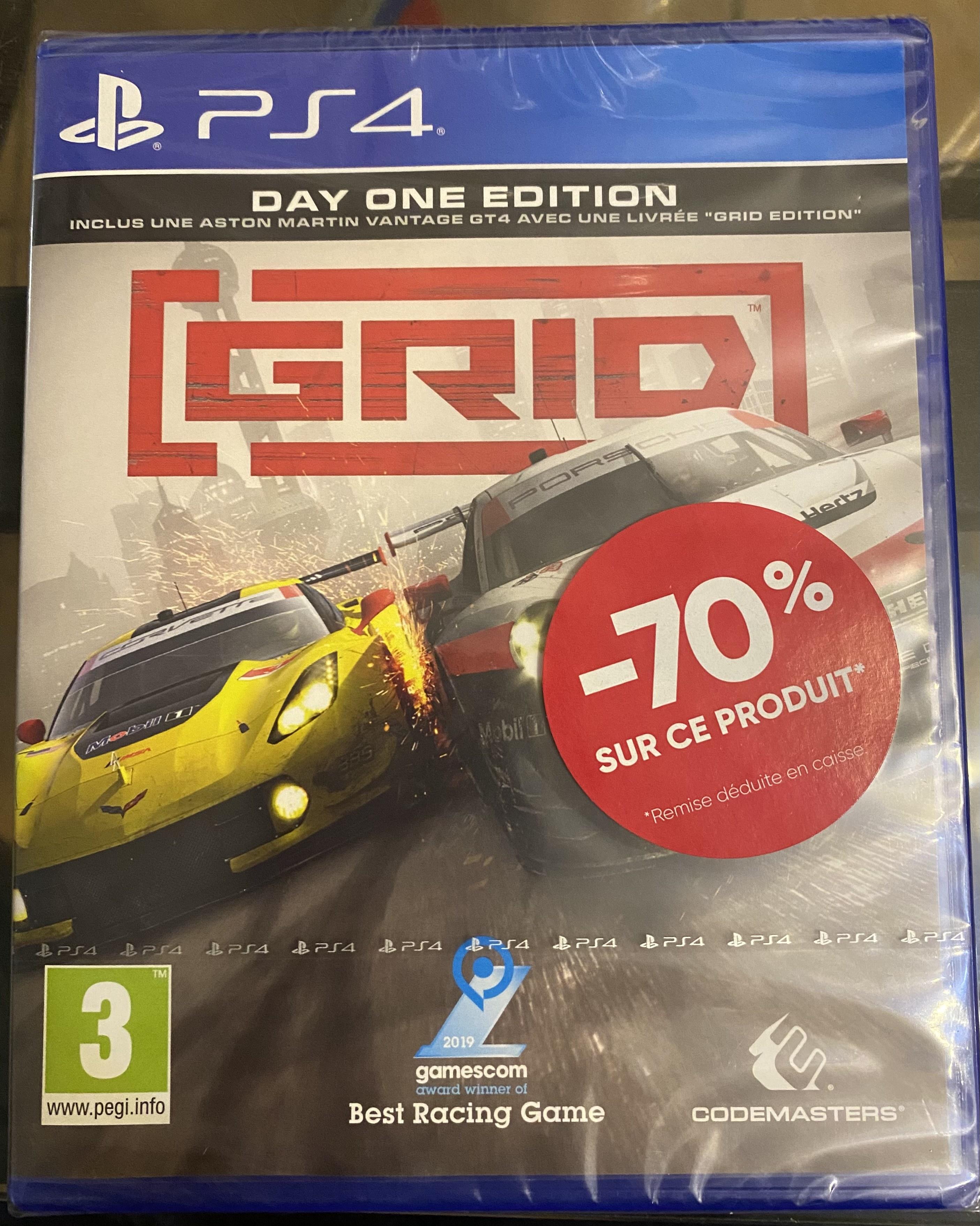 GRID sur PS4 - Montpellier (34)