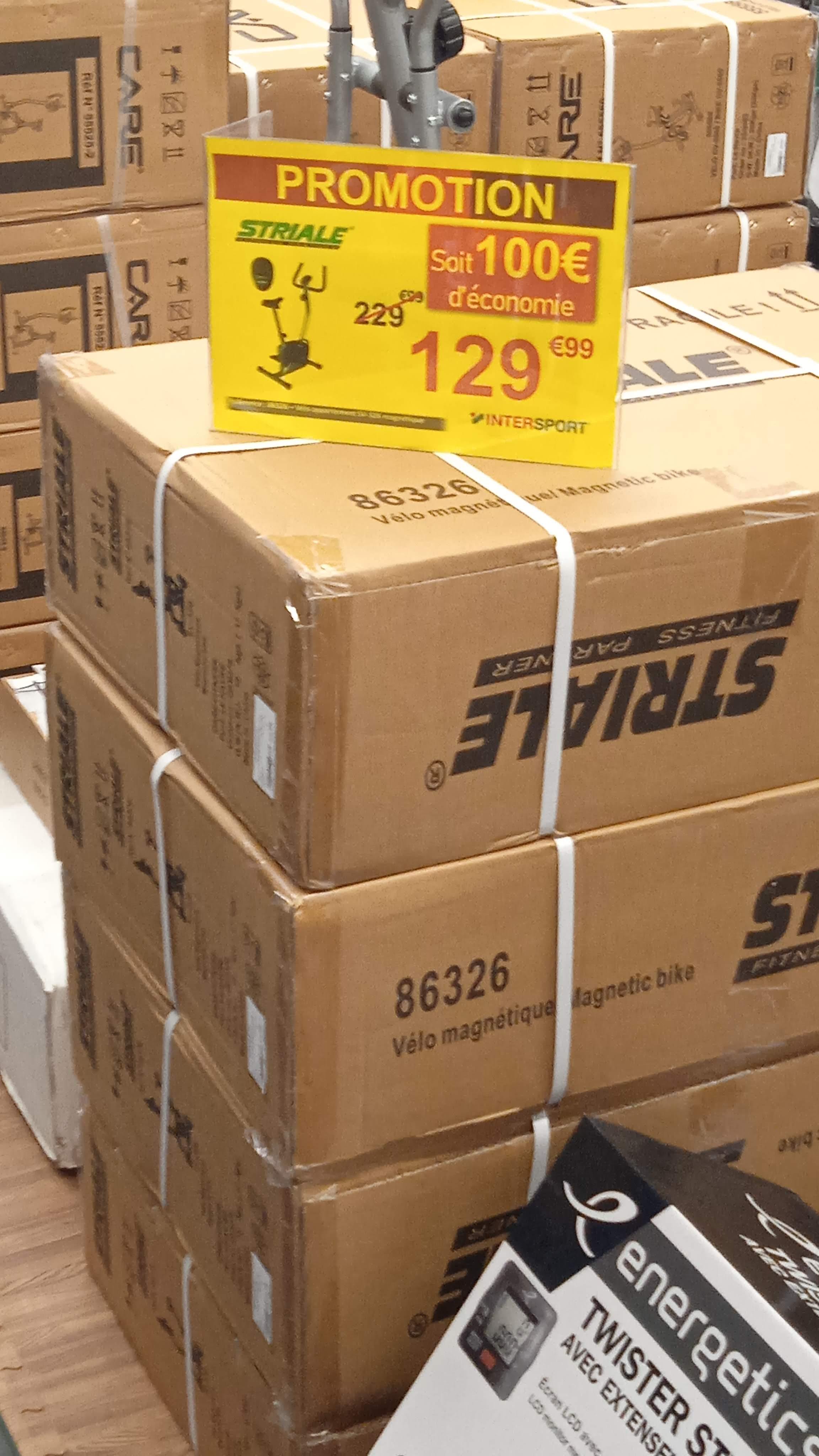 Vélo d'appartement Striale SV-326 - Intersport St-Jean-D'Angély (17)