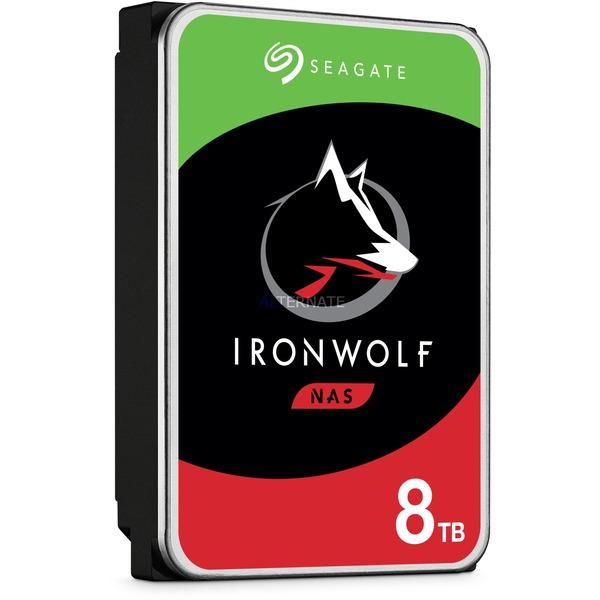 "Disque dur interne 3.5"" Seagate NAS Iron Wolf - 8 To"