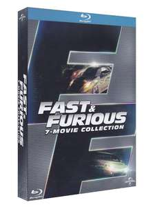 Coffret Blu-ray Fast And Furiousl'ingérale  - 7 Films Collection