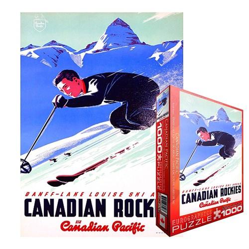 Puzzle Nature et Découvertes Canadian Rockies - 1000 pièces
