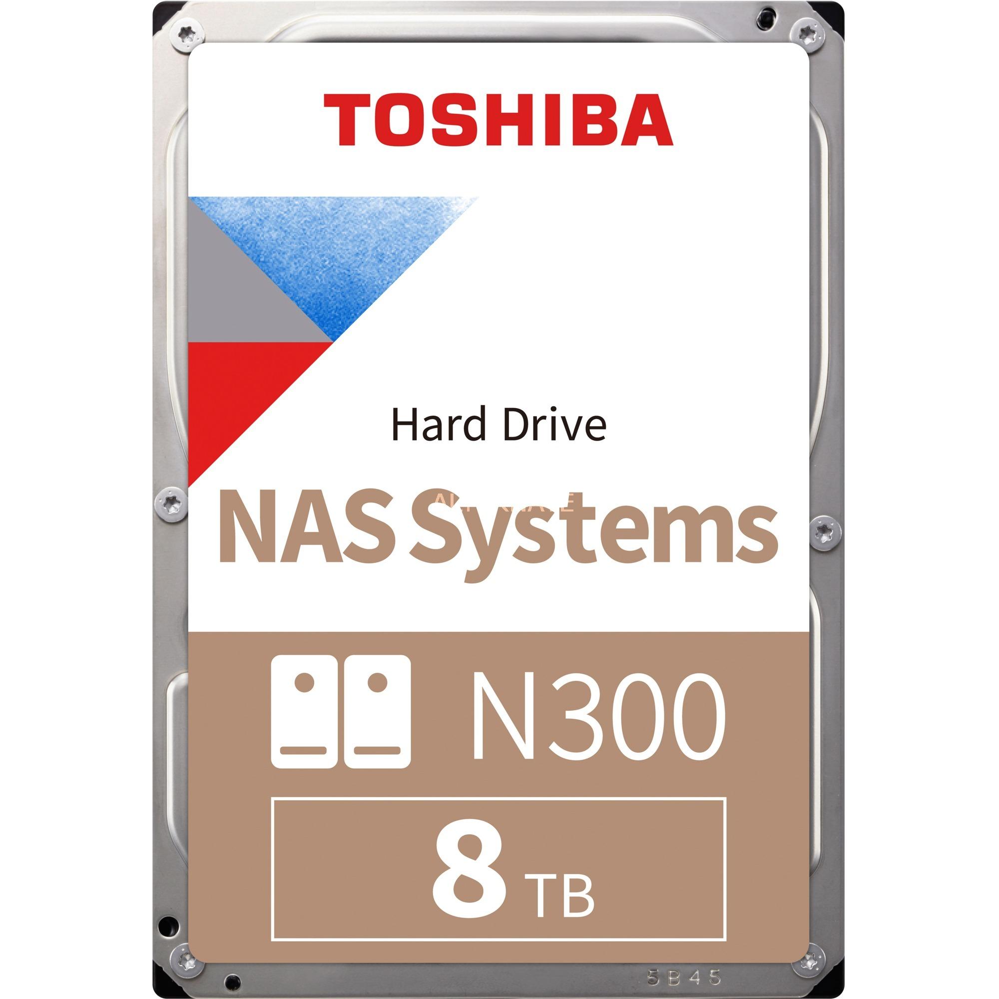 "Disque dur interne 3.5"" Toshiba NAS N300 - CMR, 8 To"