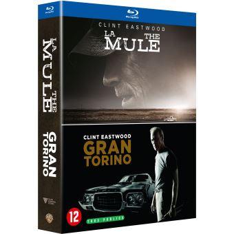Coffret Blu-Ray Clint Eastwood 2 Films - La Mule et Gran Torino