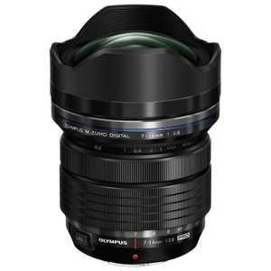• Sélection d'articles en promotion - Ex: Objectif ultra grand-angle Olympus M.Zuiko Digital ED 7-14mm f/2.8 Pro