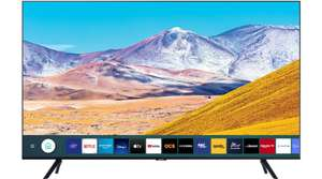 """TV 43"""" Samsung UE43TU8005 2020 - LED, 4K UHD, HDR 10+, Smart TV (+ 42.90€ en Rakuten Points) - Boulanger"""