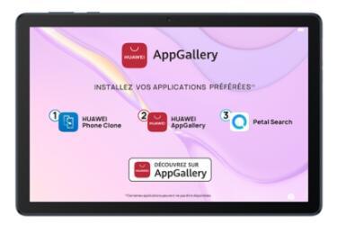 "Tablette 10.1"" Huawei Matepad T10S - 3 Go RAM, 64 Go (Sans Services Google)"