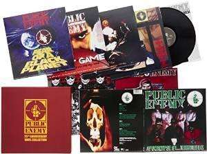 Coffret Vinyl Public Enemy - Collection 25e Anniversaire Edition limitée