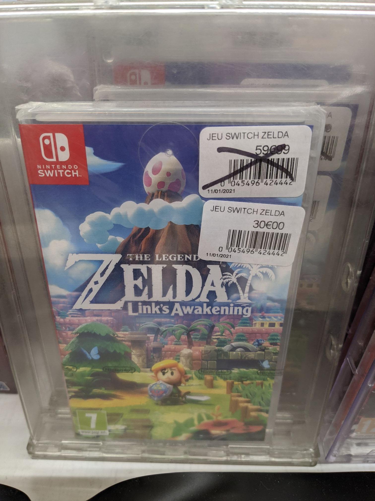 The Legend of Zelda : Link's Awakening sur Nintendo Switch - Lens (62), Saint-Quentin (02), Pacé (35)