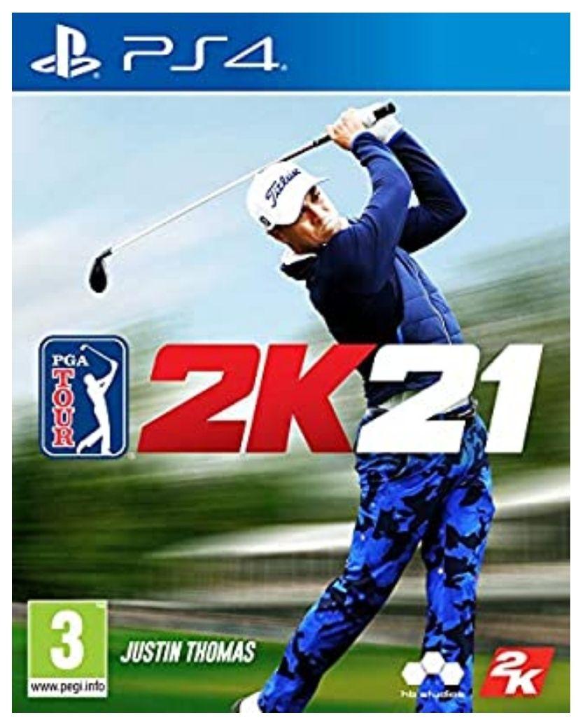 Jeu PGA Tour 2K21 sur PS4