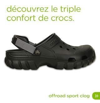 50% de réduction immédiate sur la paire de Crocs la moins chère dès l'achat de 2 paires parmi une sélection