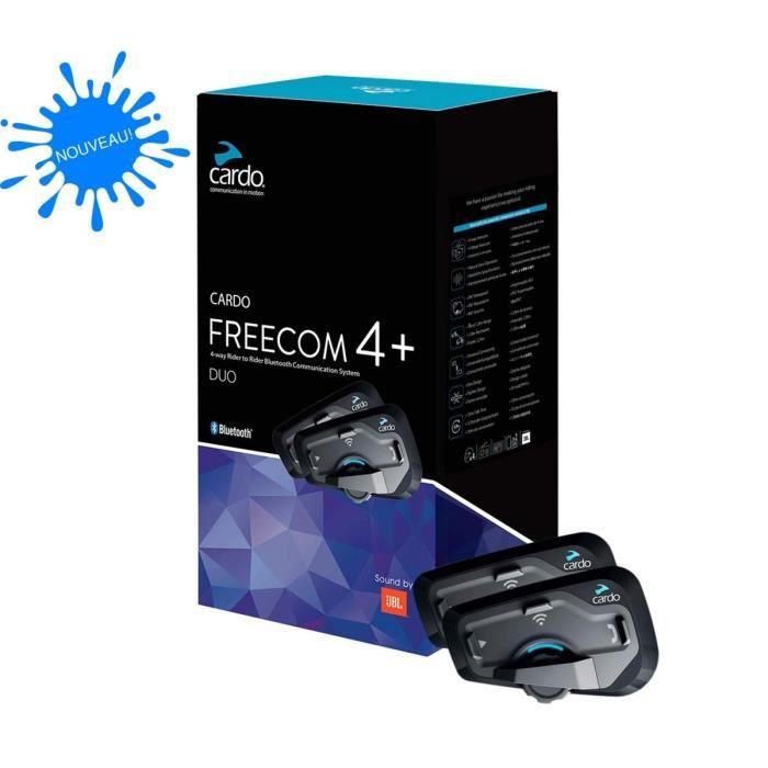 Intercom pour moto Scala Rider - Freecom 4 + Duo JBL