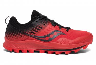 Paire de chaussures de trail Saucony Peregrine 10 - Rouge/Noir, Diverses tailles