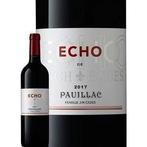 Bouteille de vin rouge AOP Pauillac Echo de Lynch Bages second vin 2017 - 75cl