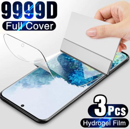 [Nouveaux clients] Lot de 3 Films de protection pour smartphones Samsung Galaxy