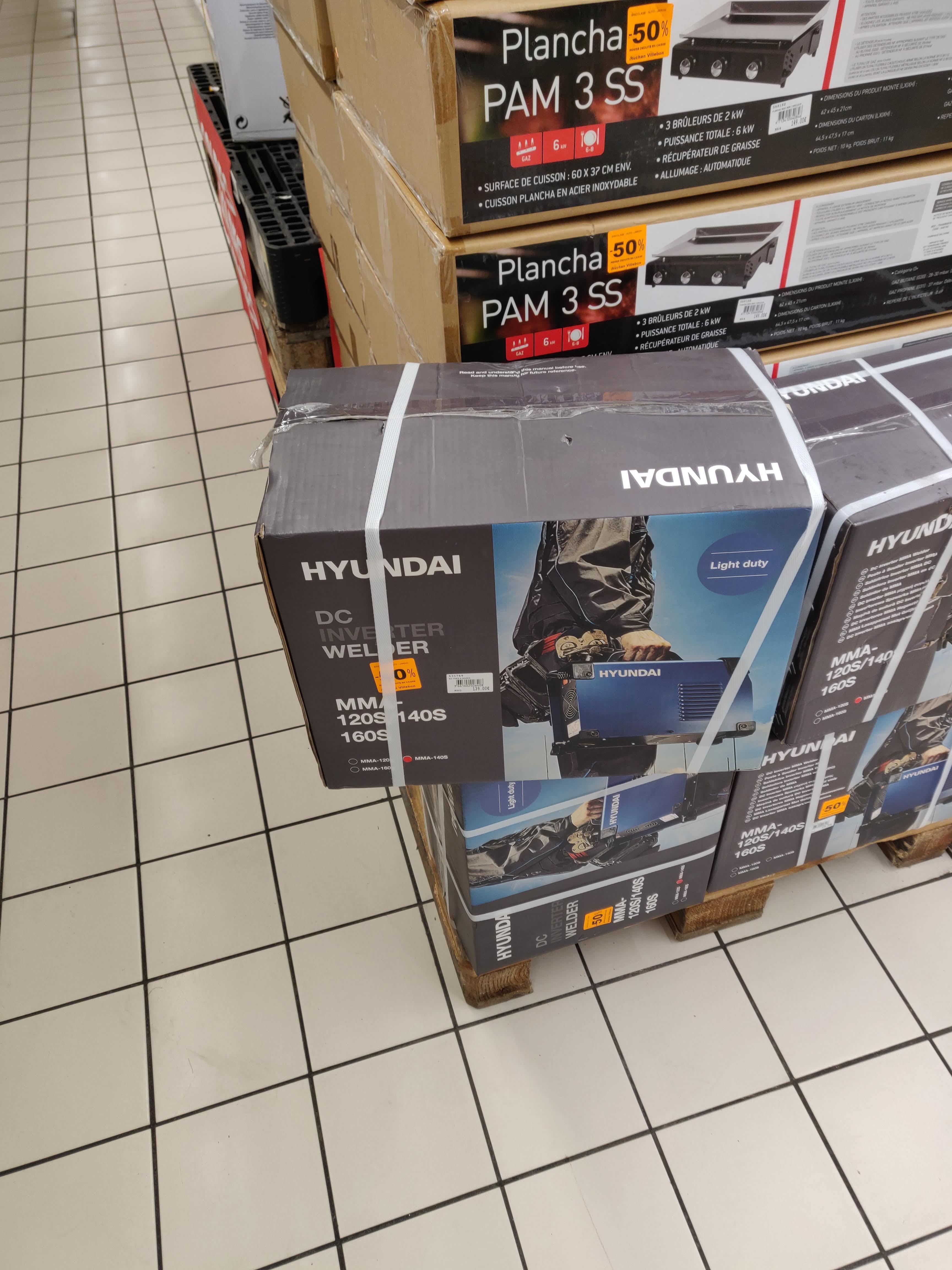 Poste à souder Hyundai MMA 140S - Villebon-sur-Yvette (91)