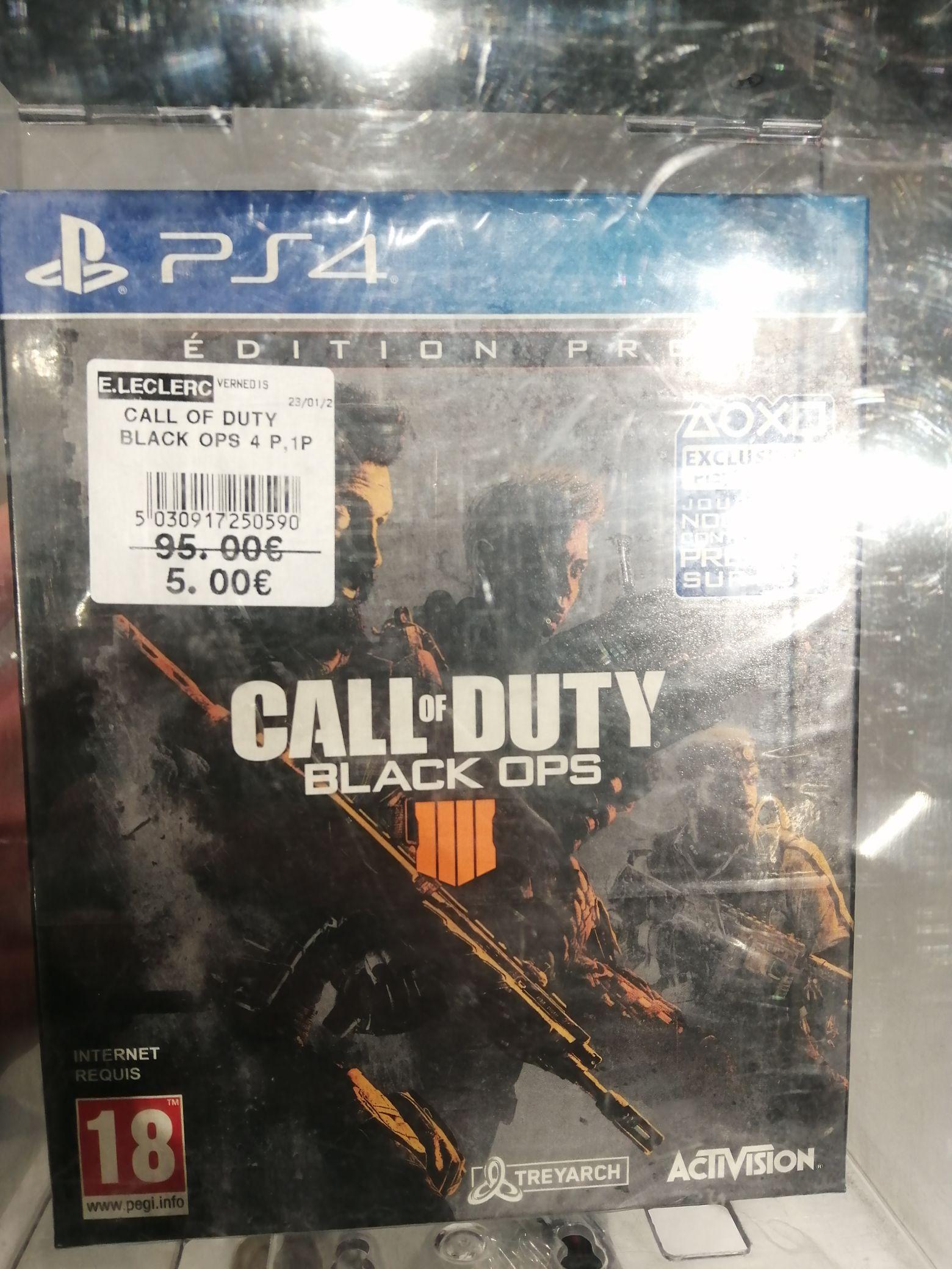 Call of Duty: Black Ops 4 - Édition Pro sur PS4 - Perpignan (66)