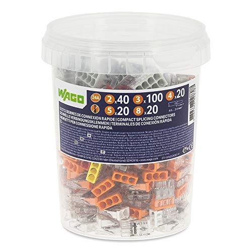 Pot de 200 bornes de connexion automatique WAGO S2273 - 2, 3, 4, 5 et 8 entrées (Vendeur tiers)