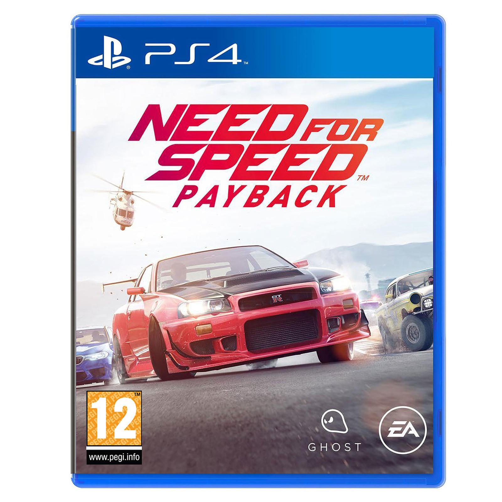 Need For Speed Payback sur PS4 (Dématérialisé)