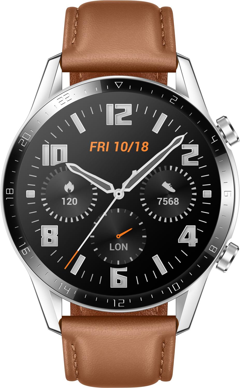 Montre connectée Huawei Watch GT 2 - 46 mm, classique