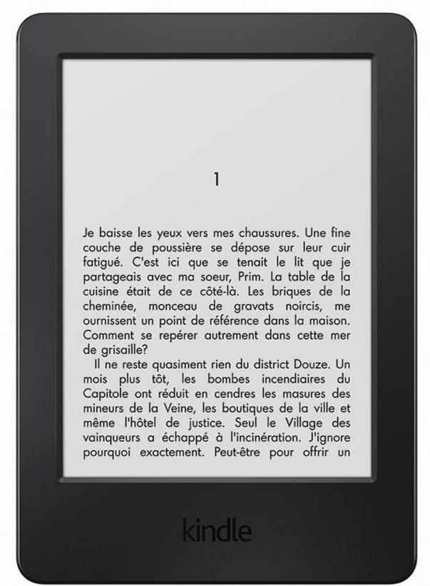 "Liseuse Kindle 6""  antireflet, Wi-Fi  sans ou avec pub"