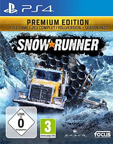 SnowRunner Edition Premium sur PS4