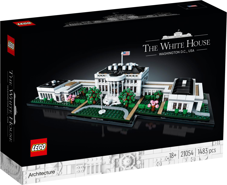 Jouet Lego Architecture - La Maison Blanche (21054)