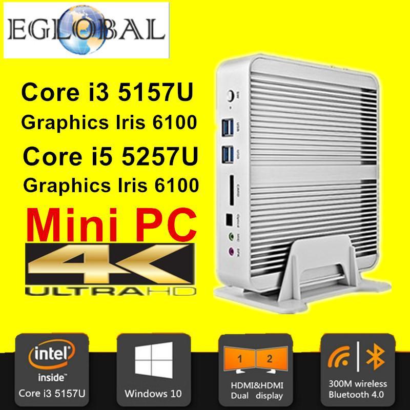 Mini PC Broadwell - Intel Core i5 5257U, Graphics Iris 6100