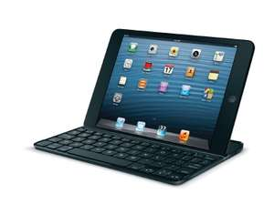 Housse Logitech Ultrathin Keyboard + Clavier bluetooth pour iPad Mini 1/2/3 - Noir (AZERTY)
