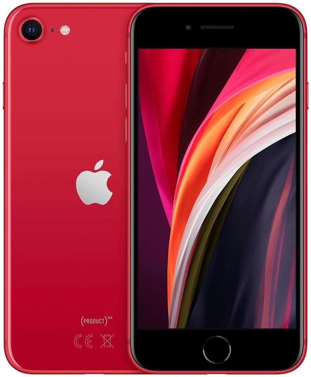 """Smartphone 4.7"""" Apple iPhone SE 2020 (2020) - HD+, A13, 3 Go de RAM, 64 Go, rouge"""
