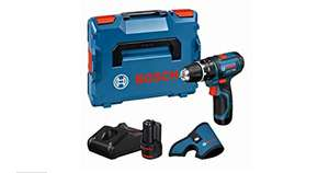 Perceuse visseuse à percussion Sans-fil GSB 12 V-15 Drill - 2 batteries 12V 2,0Ah, Dragonne, L-BOXX